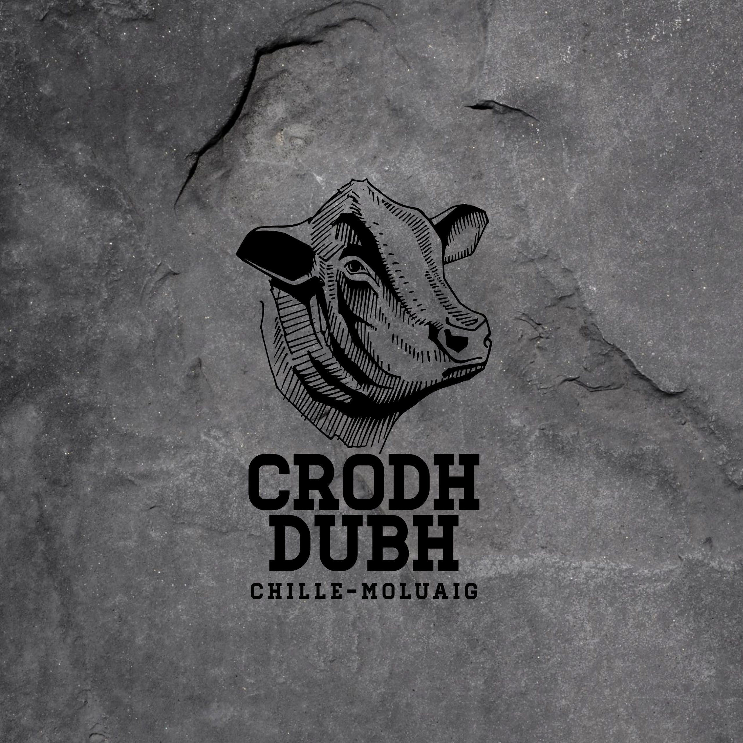 crodh dubh - aberdeen angus breeding logo