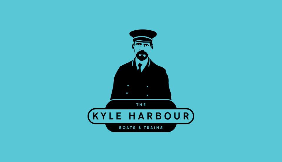 kyle harbour exhibition logo design