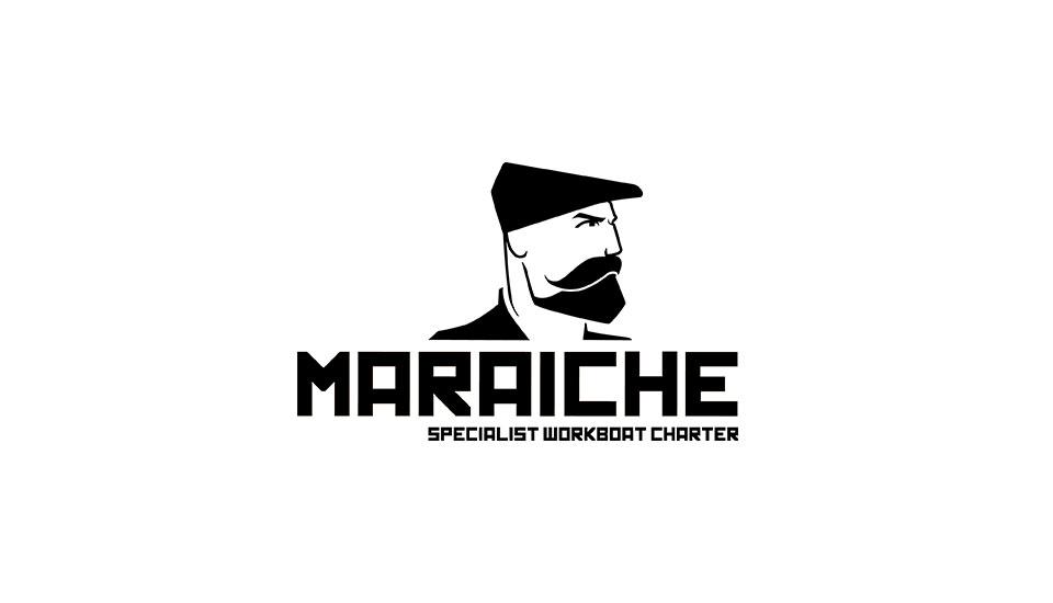 maraiche logo design