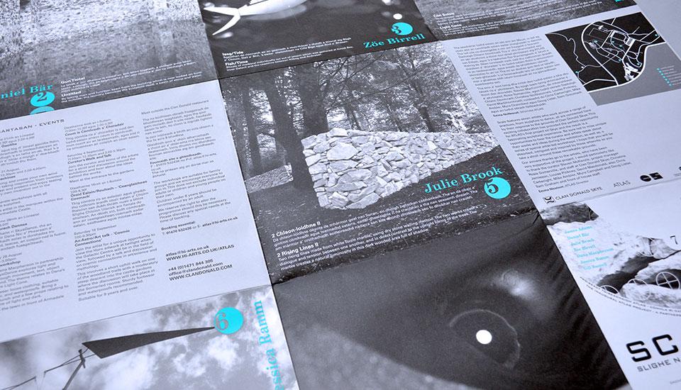 scale - exhibition leaflet