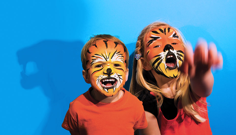 tigers face painting