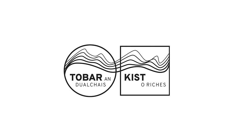 tobar an dualchais, kist o riches logo design