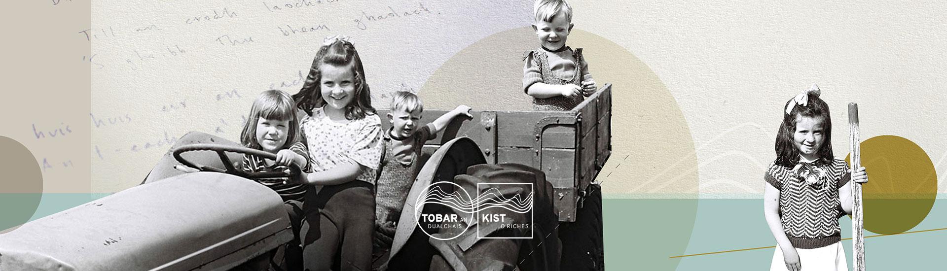 brand illustration tobar an dualchais, kist o riches