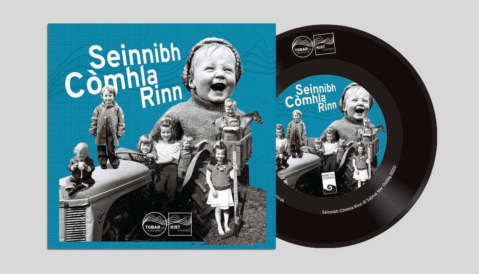seinnibh comhla rinn CD design