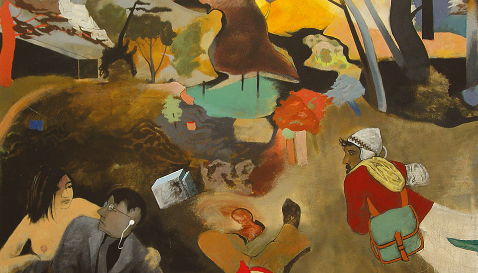 painting steven mckenzie, copy-if-not-not-r.b-kitja