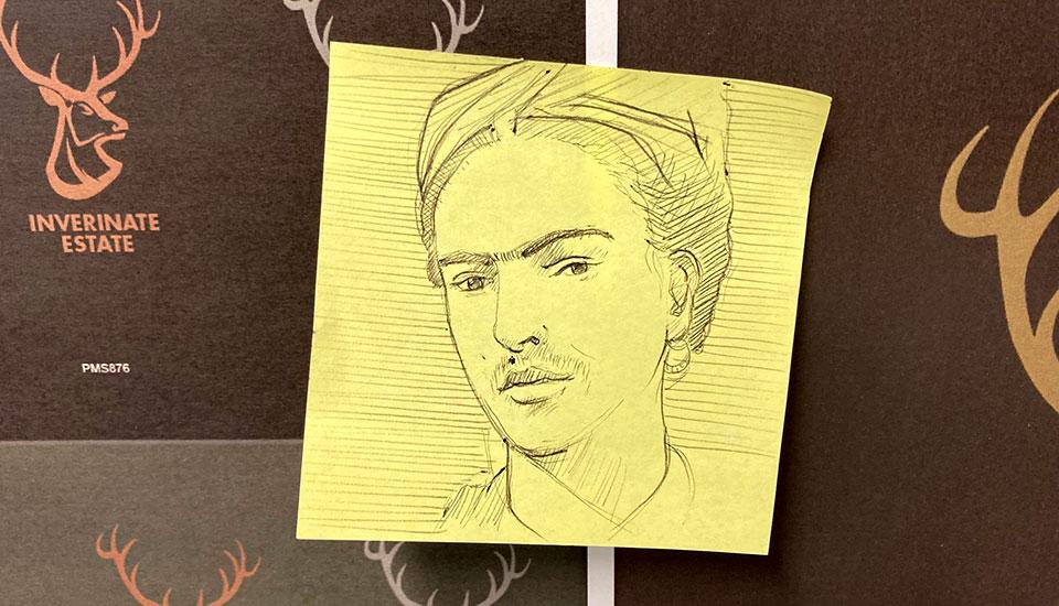 Illustration, pen drawing, FilmG