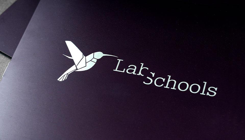 labschools logo design