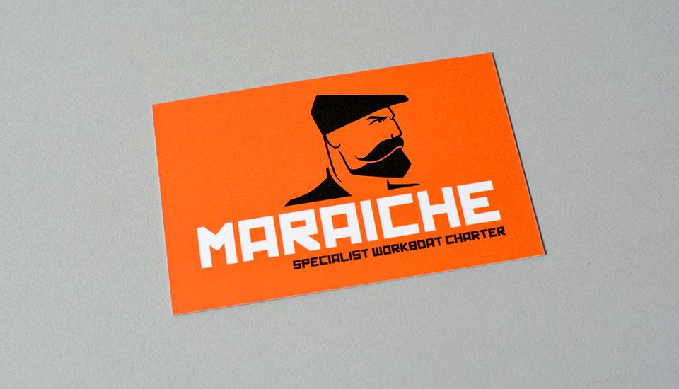 maraiche business card
