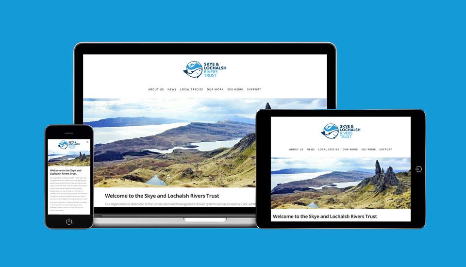 Skye and Lochalsh Rivers Trust website