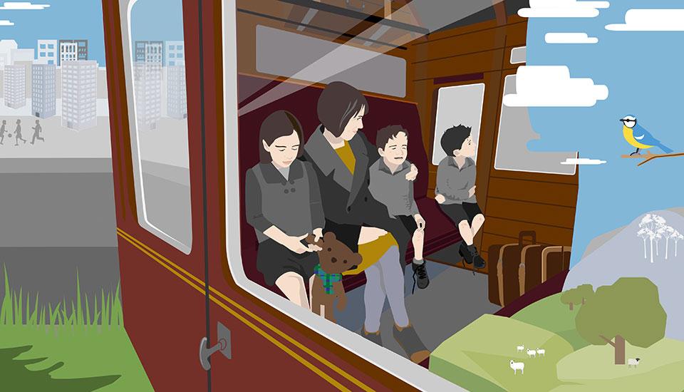 illustration for BBC bitesize education resources